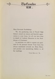 Page 15, 1930 Edition, Purcell High School - Cavalier Yearbook (Cincinnati, OH) online yearbook collection
