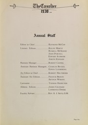Page 9, 1930 Edition, Purcell High School - Cavalier Yearbook (Cincinnati, OH) online yearbook collection
