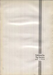 Page 6, 1932 Edition, Purcell High School - Cavalier Yearbook (Cincinnati, OH) online yearbook collection