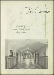 Page 7, 1937 Edition, Purcell High School - Cavalier Yearbook (Cincinnati, OH) online yearbook collection