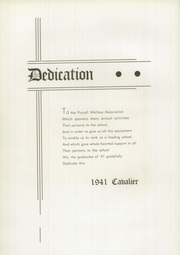 Page 8, 1941 Edition, Purcell High School - Cavalier Yearbook (Cincinnati, OH) online yearbook collection