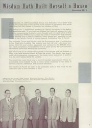 Page 11, 1953 Edition, Purcell High School - Cavalier Yearbook (Cincinnati, OH) online yearbook collection