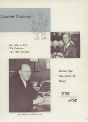 Page 9, 1953 Edition, Purcell High School - Cavalier Yearbook (Cincinnati, OH) online yearbook collection