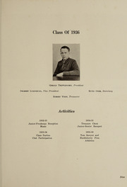 Page 17, 1936 Edition, Bluffton High School - Buccaneer Yearbook (Bluffton, OH) online yearbook collection