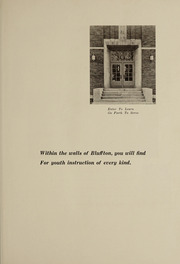 Page 9, 1936 Edition, Bluffton High School - Buccaneer Yearbook (Bluffton, OH) online yearbook collection