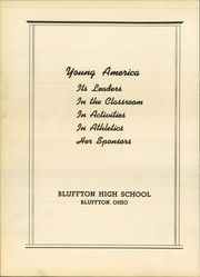 Page 8, 1940 Edition, Bluffton High School - Buccaneer Yearbook (Bluffton, OH) online yearbook collection