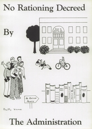 Page 13, 1944 Edition, Bluffton High School - Buccaneer Yearbook (Bluffton, OH) online yearbook collection