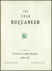 Page 5, 1946 Edition, Bluffton High School - Buccaneer Yearbook (Bluffton, OH) online yearbook collection