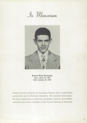 Page 7, 1953 Edition, Bluffton High School - Buccaneer Yearbook (Bluffton, OH) online yearbook collection