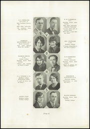 Page 12, 1929 Edition, Van Buren High School - Knight Yearbook (Van Buren, OH) online yearbook collection