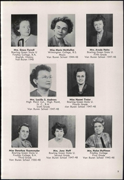 Page 11, 1948 Edition, Van Buren High School - Knight Yearbook (Van Buren, OH) online yearbook collection