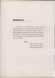Page 6, 1948 Edition, Van Buren High School - Knight Yearbook (Van Buren, OH) online yearbook collection