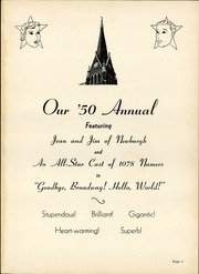 Page 5, 1950 Edition, Holy Name High School - Namer Yearbook (Cleveland, OH) online yearbook collection
