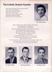 Page 15, 1955 Edition, Holy Name High School - Namer Yearbook (Cleveland, OH) online yearbook collection