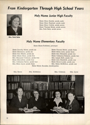 Page 16, 1955 Edition, Holy Name High School - Namer Yearbook (Cleveland, OH) online yearbook collection