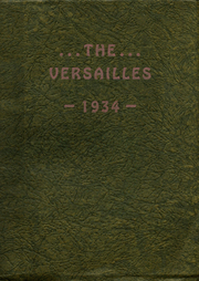 Versailles High School - Yearbook (Versailles, OH) online yearbook collection, 1934 Edition, Page 1