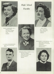 Page 12, 1952 Edition, Lucas High School - Lucannus Yearbook (Lucas, OH) online yearbook collection