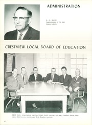 Page 10, 1962 Edition, Crestview High School - Cavalier Yearbook (Convoy, OH) online yearbook collection
