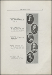 Page 13, 1925 Edition, Fairport Harding High School - Harbor Light Yearbook (Fairport Harbor, OH) online yearbook collection