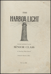 Page 3, 1925 Edition, Fairport Harding High School - Harbor Light Yearbook (Fairport Harbor, OH) online yearbook collection