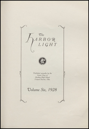 Page 7, 1928 Edition, Fairport Harding High School - Harbor Light Yearbook (Fairport Harbor, OH) online yearbook collection