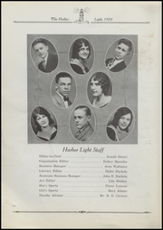 Page 10, 1930 Edition, Fairport Harding High School - Harbor Light Yearbook (Fairport Harbor, OH) online yearbook collection