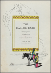 Page 7, 1934 Edition, Fairport Harding High School - Harbor Light Yearbook (Fairport Harbor, OH) online yearbook collection