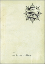 Page 5, 1940 Edition, Fairport Harding High School - Harbor Light Yearbook (Fairport Harbor, OH) online yearbook collection