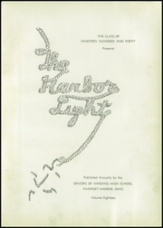 Page 7, 1940 Edition, Fairport Harding High School - Harbor Light Yearbook (Fairport Harbor, OH) online yearbook collection