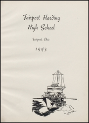 Page 5, 1943 Edition, Fairport Harding High School - Harbor Light Yearbook (Fairport Harbor, OH) online yearbook collection