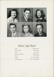 Page 13, 1944 Edition, Fairport Harding High School - Harbor Light Yearbook (Fairport Harbor, OH) online yearbook collection