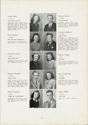Page 17, 1944 Edition, Fairport Harding High School - Harbor Light Yearbook (Fairport Harbor, OH) online yearbook collection