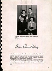 Page 15, 1947 Edition, Hopewell Loudon High School - Scarlet and Grey Yearbook (Bascom, OH) online yearbook collection