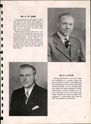 Page 9, 1947 Edition, Hopewell Loudon High School - Scarlet and Grey Yearbook (Bascom, OH) online yearbook collection