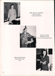 Page 10, 1953 Edition, Hopewell Loudon High School - Scarlet and Grey Yearbook (Bascom, OH) online yearbook collection