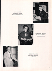Page 11, 1953 Edition, Hopewell Loudon High School - Scarlet and Grey Yearbook (Bascom, OH) online yearbook collection