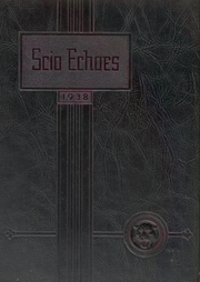1938 Edition, Scio High School - Panther Echoes Yearbook (Scio, OH)