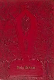 1952 Edition, Scio High School - Panther Echoes Yearbook (Scio, OH)