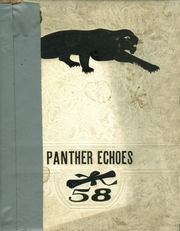 1958 Edition, Scio High School - Panther Echoes Yearbook (Scio, OH)