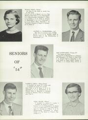 1954 Edition, Anna High School - Rocketeer Yearbook (Anna, OH)
