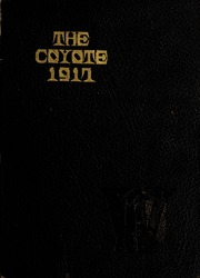 Nebraska Wesleyan University - Plainsman Yearbook (Lincoln, NE) online yearbook collection, 1917 Edition, Page 1