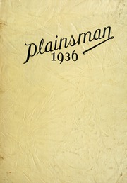 Nebraska Wesleyan University - Plainsman Yearbook (Lincoln, NE) online yearbook collection, 1936 Edition, Page 1
