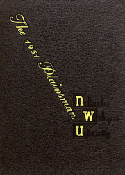 1951 Edition, Nebraska Wesleyan University - Plainsman Yearbook (Lincoln, NE)