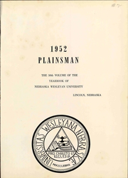Page 7, 1952 Edition, Nebraska Wesleyan University - Plainsman Yearbook (Lincoln, NE) online yearbook collection