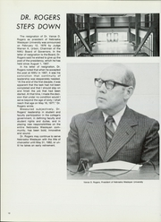 Page 16, 1976 Edition, Nebraska Wesleyan University - Plainsman Yearbook (Lincoln, NE) online yearbook collection