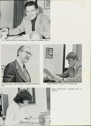 Page 17, 1976 Edition, Nebraska Wesleyan University - Plainsman Yearbook (Lincoln, NE) online yearbook collection
