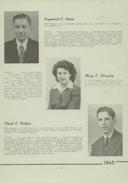 Page 13, 1945 Edition, St Pauls High School - Look Ahead Yearbook (Norwalk, OH) online yearbook collection