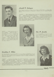 Page 15, 1945 Edition, St Pauls High School - Look Ahead Yearbook (Norwalk, OH) online yearbook collection