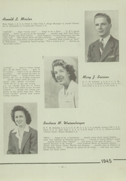 Page 17, 1945 Edition, St Pauls High School - Look Ahead Yearbook (Norwalk, OH) online yearbook collection