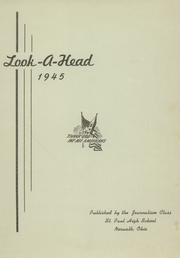 Page 3, 1945 Edition, St Pauls High School - Look Ahead Yearbook (Norwalk, OH) online yearbook collection